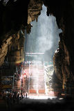 Caverna Malesia di Batu fotografia stock libera da diritti