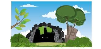 Caverna misteriosa Imagem de Stock