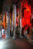 Caverna multilayer bonita do cársico Imagem de Stock Royalty Free
