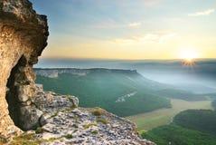 Caverna na montanha Imagem de Stock Royalty Free