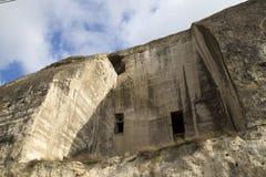 Caverna na rocha Imagens de Stock