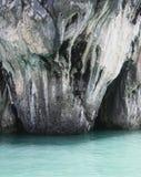 Caverna nel mare Immagini Stock