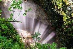 Caverna nevoenta Imagem de Stock Royalty Free