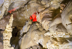 Caverna nova de Athos Foto de Stock