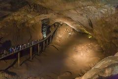 Caverna nova de Athos Imagem de Stock