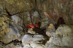 Caverna nova de Athos Imagem de Stock Royalty Free
