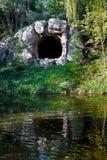 Caverna riflessa Immagine Stock