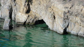 Caverna in roccia Immagini Stock