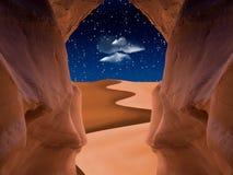 Caverna rossa immagini stock libere da diritti