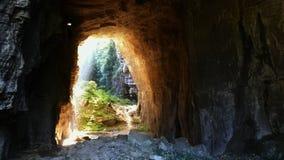 Caverna sacra fotografie stock