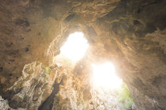 Caverna tropical encantador da montanha, Sam Roi Yot, Tailândia Imagem de Stock