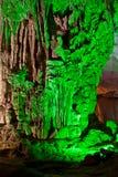 Caverna verde Fotografia Stock Libera da Diritti