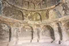 Cavernas afegãs que abrigam as pinturas a óleo as mais velhas do mundo Fotografia de Stock