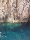 Cavernas azuis fotos de stock
