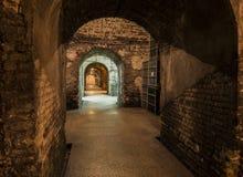 Cavernas Castellane Epernay Fotografia de Stock