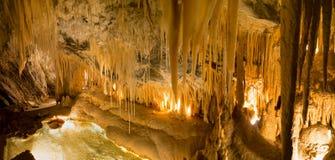 Cavernas da angra da toupeira fotos de stock