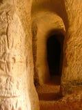 Cavernas da areia Imagem de Stock