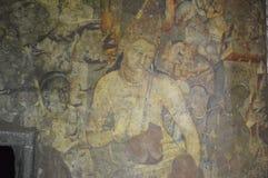 Cavernas de Ajanta, Índia Fotos de Stock