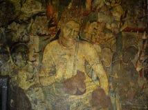 Cavernas de Ajanta, Índia Foto de Stock