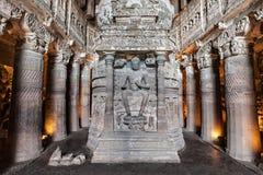 Cavernas de Ajanta, Índia Imagem de Stock
