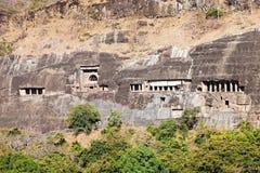 Cavernas de Ajanta, Índia Imagem de Stock Royalty Free