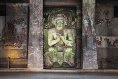 Cavernas de Ajanta, Índia Imagens de Stock Royalty Free