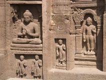 Cavernas de Ajanta Imagens de Stock Royalty Free