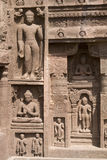 Cavernas de Ajanta Fotos de Stock