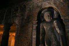 Cavernas de Ajanta na Índia Fotos de Stock