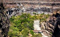 Cavernas de Ajanta na Índia Fotos de Stock Royalty Free