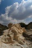 Cavernas de Beit Guvrin (Maresha) Fotografia de Stock