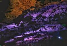 Cavernas de Borra fotografia de stock