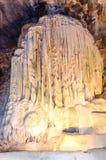 Cavernas de Cango em Oudtshoorn África do Sul Fotografia de Stock Royalty Free