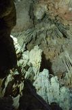 Cavernas de Diros fotos de stock