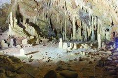 Cavernas de Diros foto de stock royalty free
