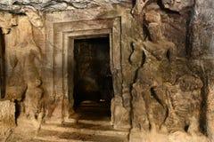 Cavernas de Elephanta Imagens de Stock Royalty Free