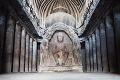 Cavernas de Ellora, Aurangabad foto de stock royalty free