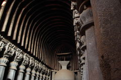 Cavernas de Kurla Foto de Stock Royalty Free