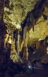 Cavernas de Luray imagem de stock