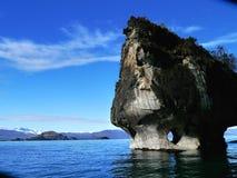 Cavernas de mármore Fotografia de Stock Royalty Free