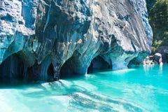 Cavernas de mármore Imagem de Stock