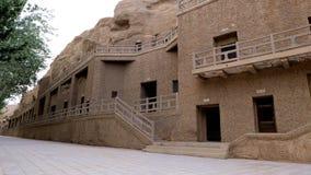 Cavernas de MoGao imagem de stock