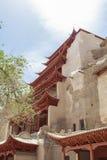 Cavernas de Mogao em Dunhuang, China Fotografia de Stock Royalty Free