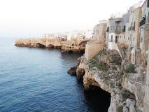 Cavernas de Polignano fotos de stock royalty free