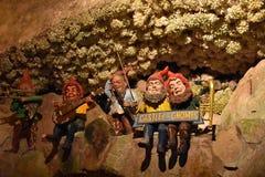 Cavernas del país de las hadas en los jardines de la ciudad de la roca en Chattanooga, Tennessee Foto de archivo
