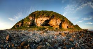 Cavernas do ` s do rei de Arran fotos de stock