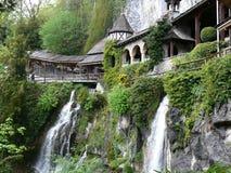 Cavernas do St. Beatus Fotografia de Stock Royalty Free