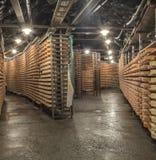 Cavernas do tempero do queijo Imagens de Stock