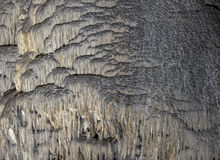 Cavernas e formações da caverna na garganta do rio ao lado de Bor imagens de stock royalty free