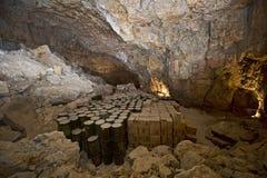Cavernas secas Imagen de archivo libre de regalías